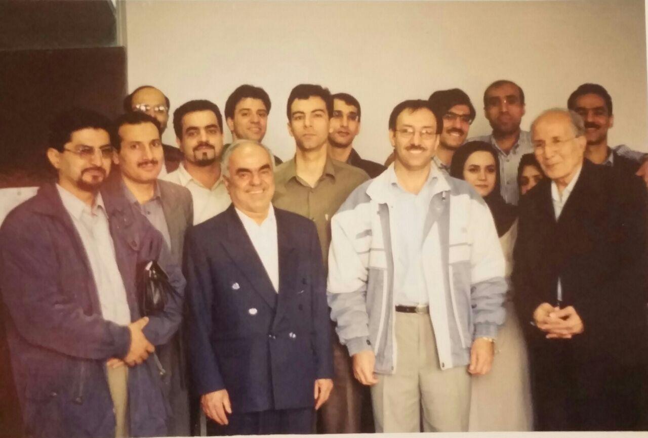 عکسی خاطره انگیز از اساتید و مرحوم استاد قوانینی