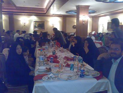 شام در ستاره فارس به دعون شركت ايران بهداشت