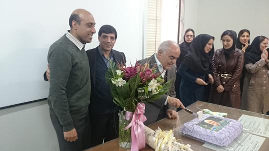 جشن تولد استاد کاظمی 1394