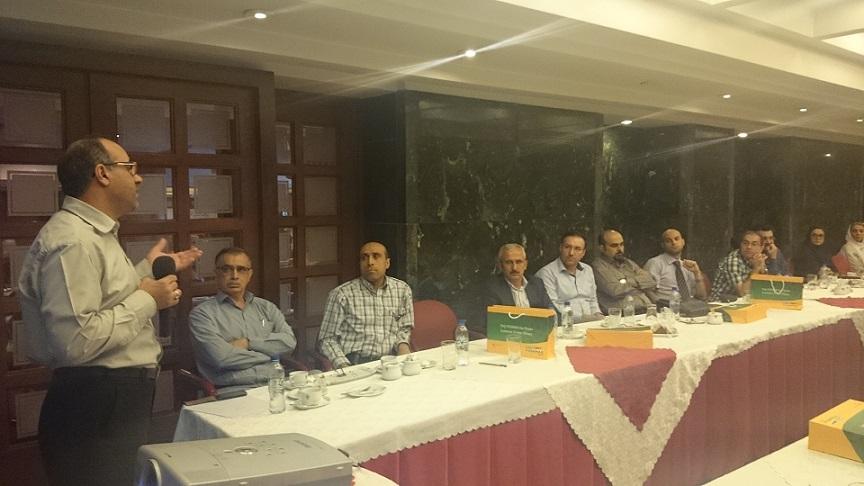 سمینار علمی انجمن در هتل پارس