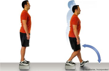 ورزش زانو, ورزش چهار سر ران ,ورزش در آسگود شلاتر