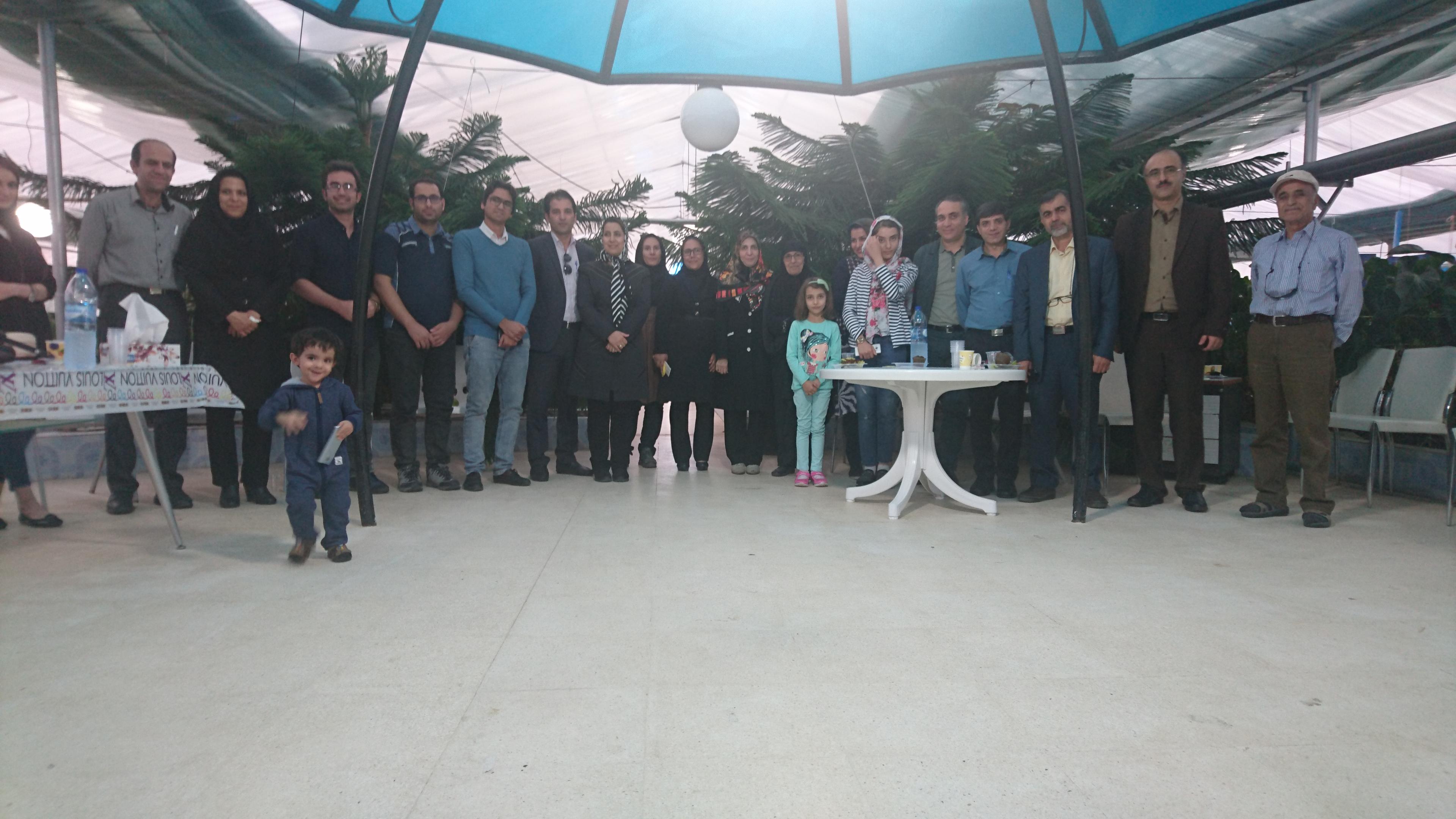 گلخانه هفت رنگ شیراز- بعد از کنفرانس ستون فقرات