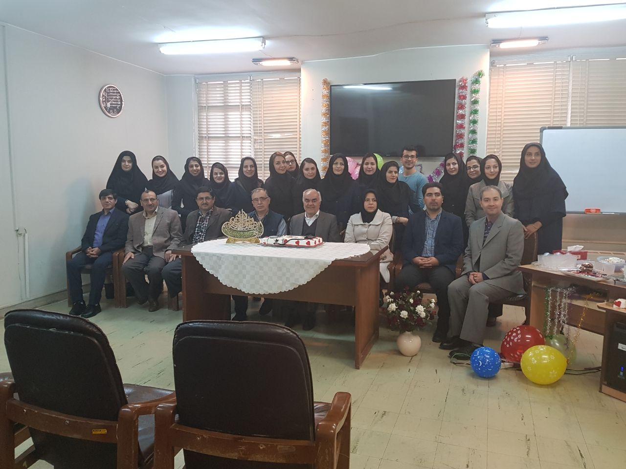 جشن تولد استاد دکتر کاظمی 1396