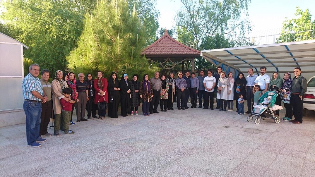 گلخانه هفت رنگ شیراز- با حضور استاد دکتر فروغ