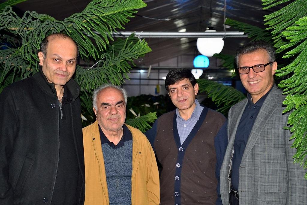 گلخانه هفت رنگ شیراز با حضور استاد دکتر رئیسی-1395