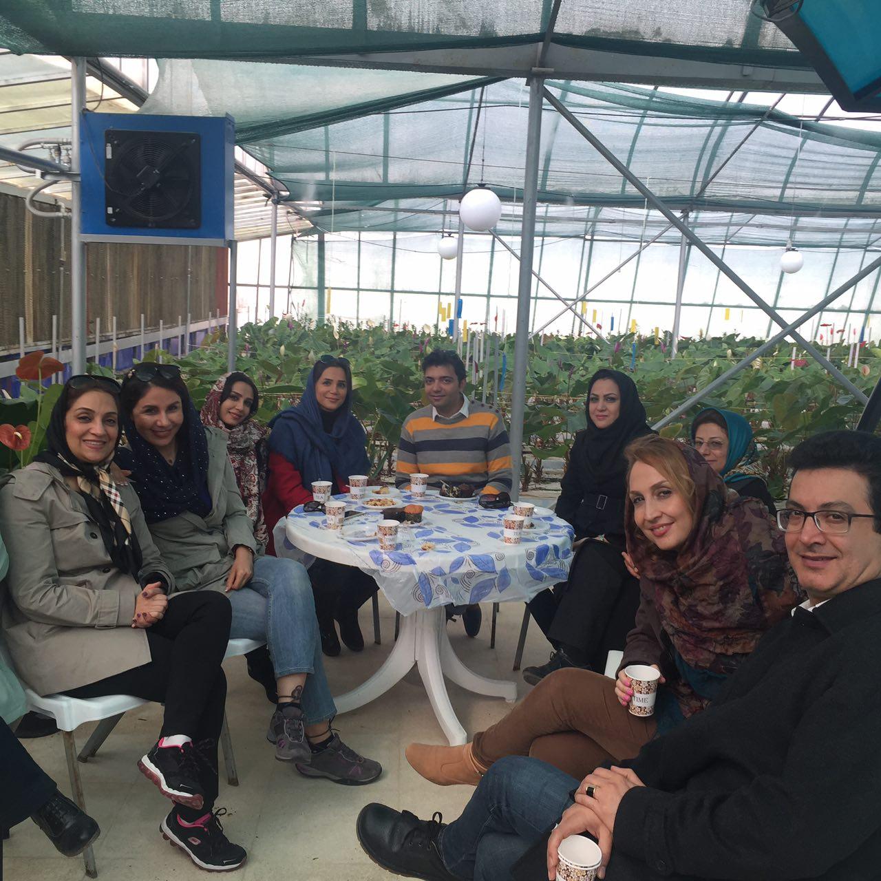 گلخانه هفت رنک شیراز-1394